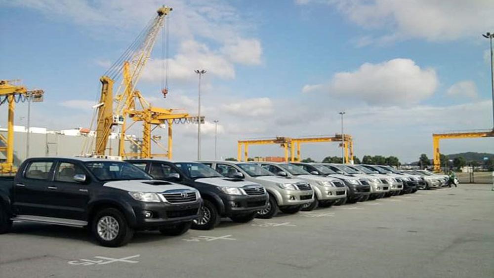 Giá trị ôtô nhập khẩu vào Việt Nam tăng vọt đầu năm 2018